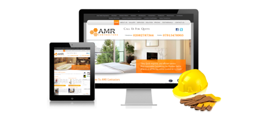 amr contractors website design1